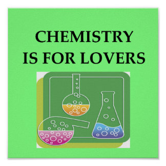 CHEMISTRY is for lovers Poster