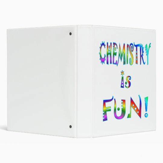 Chemistry is Fun Binder