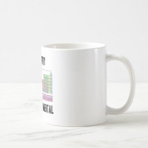 Chemistry Is So Fundamental (Periodic Table) Mug