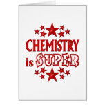Chemistry is Super Greeting Cards