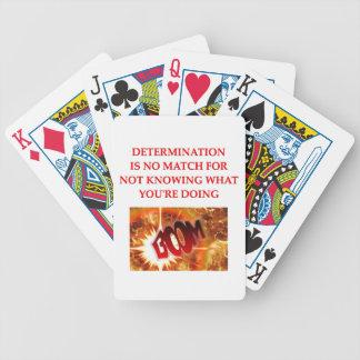 chemistry joke bicycle poker cards
