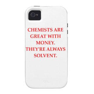 chemistry joke iPhone 4 cover