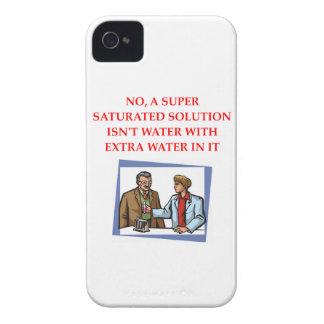 chemistry joke iPhone 4 Case-Mate case