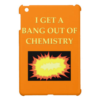 chemistry joke iPad mini covers