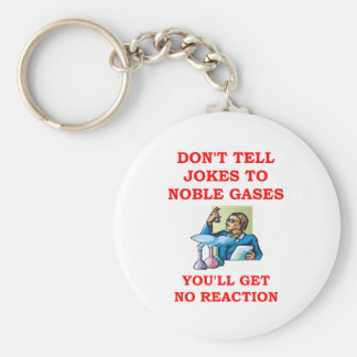 chemistry joke key chains