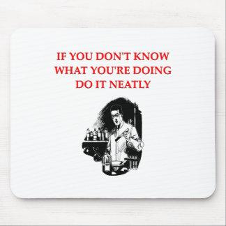 chemistry joke mouse pad