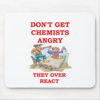 chemistry joke mouse pads
