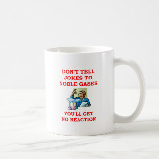 chemistry joke classic white coffee mug