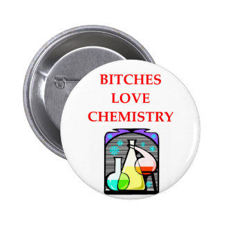 chemistry joke pinback button