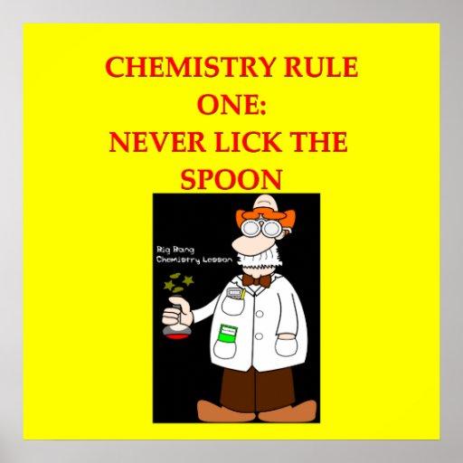 One Liner Jokes About Art : Chemistry joke poster zazzle