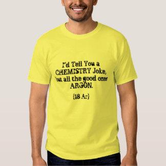 Chemistry Joke Shirts
