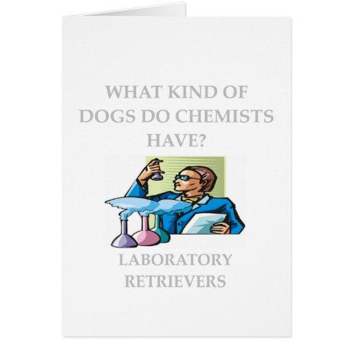 chemistry jokes card