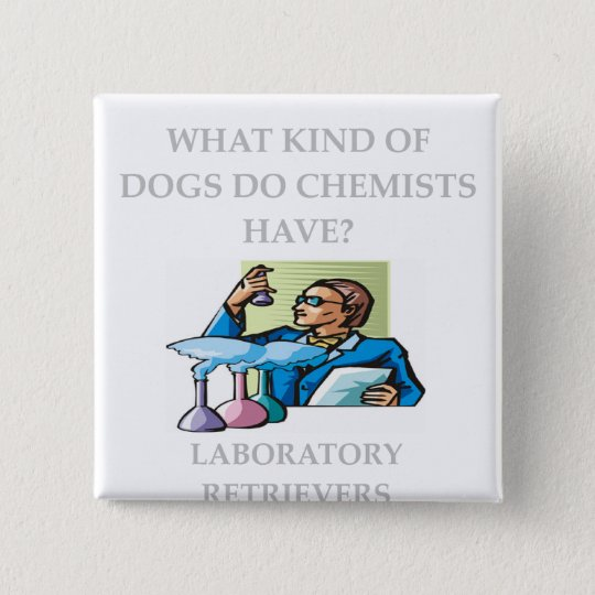 chemistry jokes pinback button