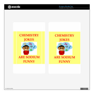 CHEMISTRY KINDLE FIRE DECALS