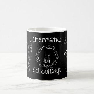 Chemistry Lab Equipment ~ Chalk On Black Board ~ Coffee Mug