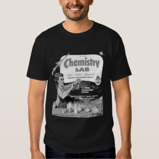 Chemistry Lab for Boys Vintage Ad T Shirt