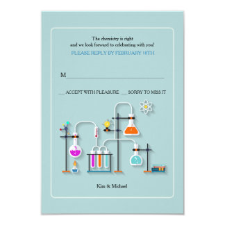 Chemistry Lab Reply Cards