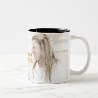 Chemistry lesson. Two-Tone coffee mug