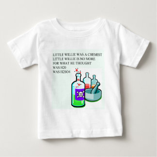 chemistry little willie rhyme baby T-Shirt