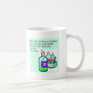chemistry little willie rhyme coffee mug