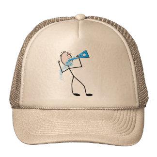 Chemistry Major Funny Stick Man Gifts Hat