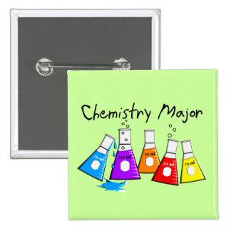 Chemistry Major Gifts Beeker Design Pinback Button