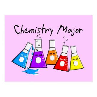 Chemistry Major Gifts Beeker Design Postcard
