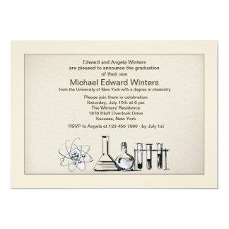Chemistry Major Graduation Invitation