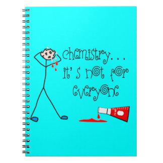 Chemistry Major Notebook Spiral Bound