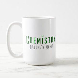 Chemistry Nature's Magic Coffee Mugs Green Metal