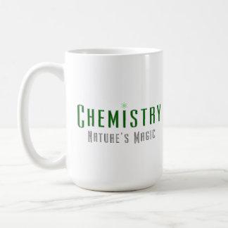 Chemistry Nature's Magic Coffee Mugs Green Metal