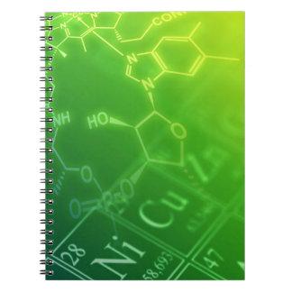 Chemistry Spiral Notebook