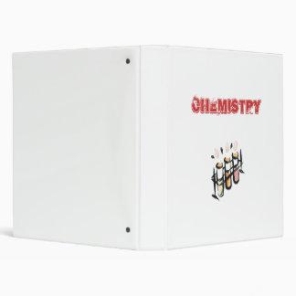 Chemistry Notebook Vinyl Binder