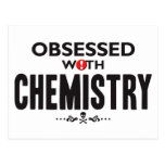 Chemistry Obsessed Postcard