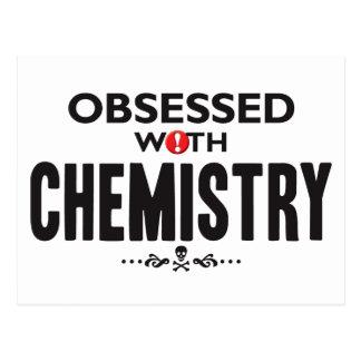 Chemistry Obsessed Postcard