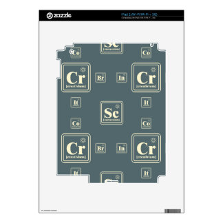 Chemistry of the business. decal for the iPad 2