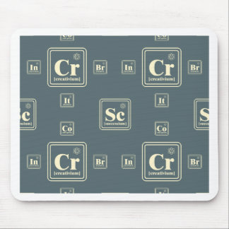 Chemistry of the business. mouse pad