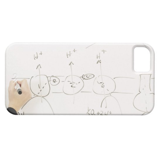 Chemistry on dry-erase board iPhone SE/5/5s case
