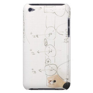 Chemistry on dry-erase board iPod Case-Mate case