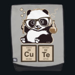 "Chemistry panda discovered cute backpack<br><div class=""desc"">Funny Chemistry panda discovered cute</div>"
