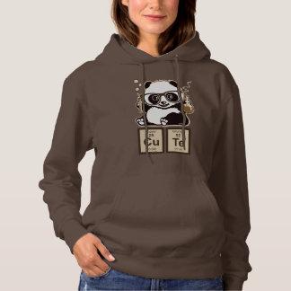 Chemistry panda discovered cute hoodie