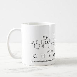 Chemistry peptide word mug