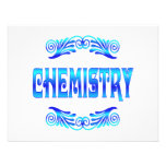 CHEMISTRY PERSONALIZED ANNOUNCEMENTS