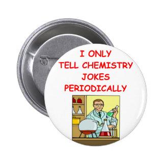 chemistry pinback button