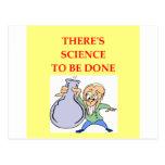 chemistry post card