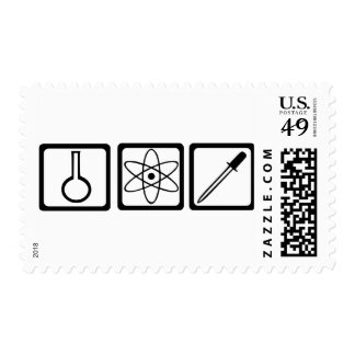 Chemistry Postage Stamp