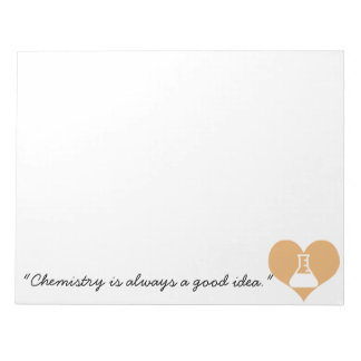 Chemistry Quote Notepad