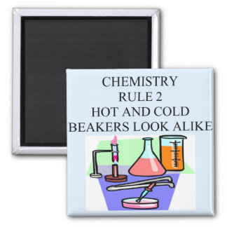 chemistry rule 2 2 inch square magnet