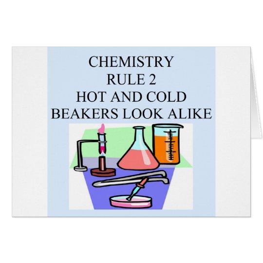chemistry rule 2 card