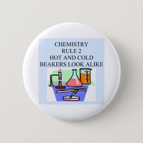 chemistry rule 2 pinback button